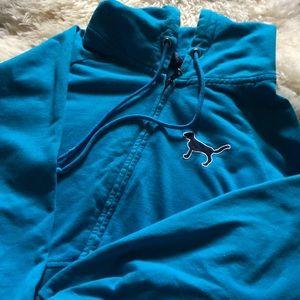 Blue PINK women's hoddie